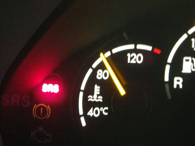 ベンツ車検SRS警告灯修理