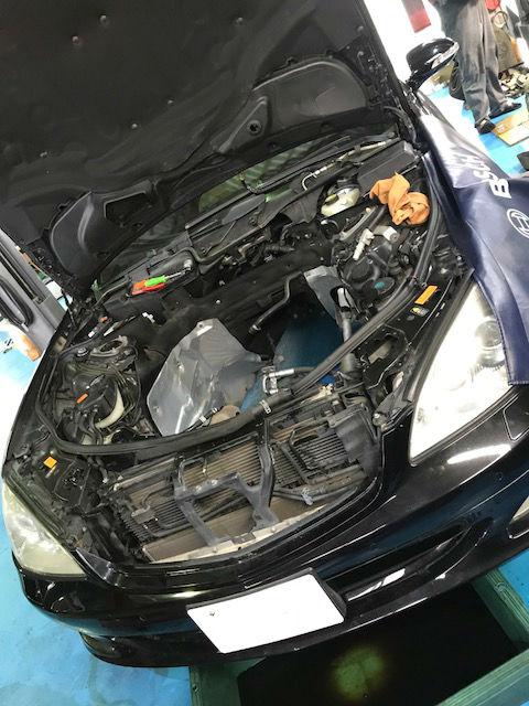 ベンツ Sクラス(W221) S600 車検点検