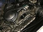 メルセデスベンツ Sクラス W221 エンジンルーム異音修理診断