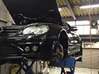 メルセデスベンツ SL55 AMG R230 オイル漏れ修理