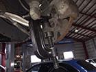 メルセデスベンツ SLクラス R230 足回り異音修理