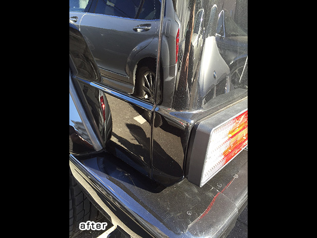 メルセデスベンツ Gクラス AMG G55 W463 リヤテールランプ部板金修理