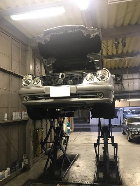 Eクラス W210(E280) 車検