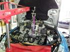 メルセデスベンツ CLSクラス エンジンオイル漏れ修理