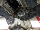 ベンツ Eクラス w211 E320 エンジンオイル漏れ
