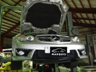 ベンツ SLクラス R230 SL500 ABC警告灯点灯修理
