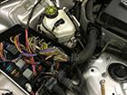 メルセデス・ベンツEクラス(W211)のエアコン修理