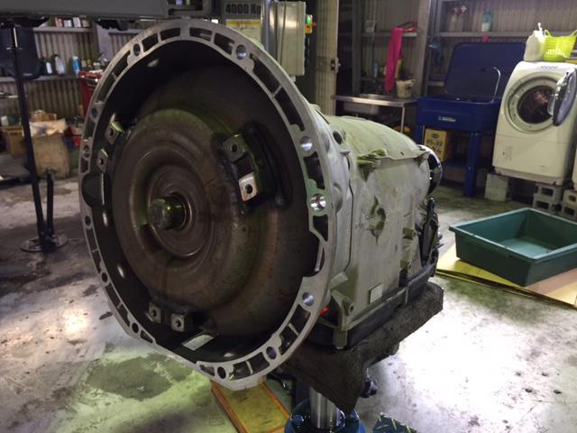 ベンツ Gクラス(W463) G500 オイル漏れ 車検整備