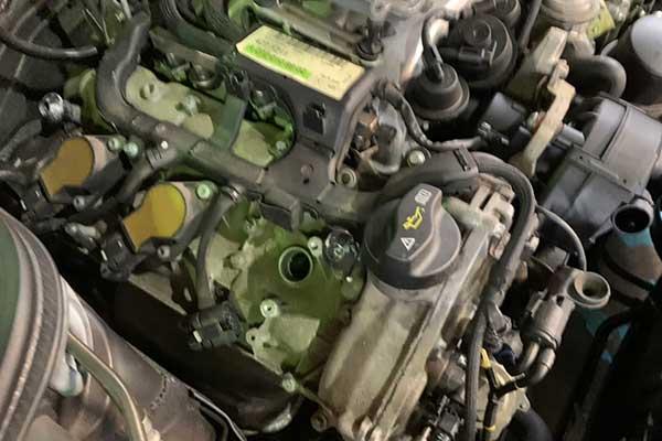 メルセデスベンツ CLS W219 350 エンジン警告灯 点灯