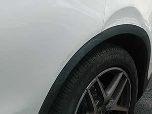 メルセデスベンツ GLC250 左側面損傷 板金修理