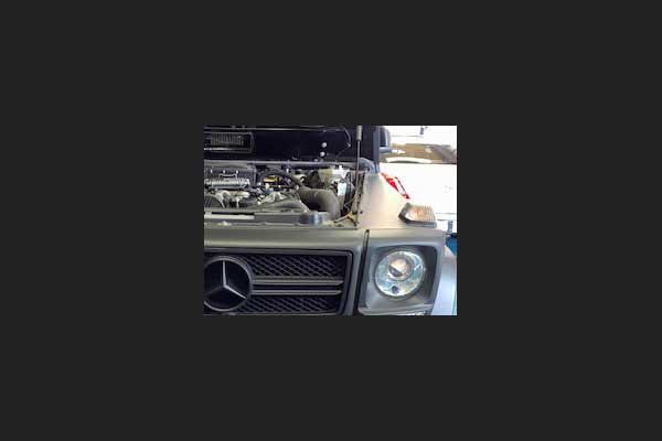 メルセデスベンツ Gクラス エンジン冷却水漏れ修理