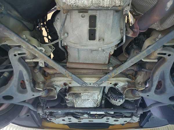 メルセデスベンツ Gクラス(G500)ステアリング回すと、ゴトゴト、ガタガタ音がする 点検修理
